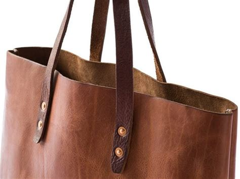 Leather Carrier Bag For The Who Has Everything by Leather Tote Bag Pattern Pdf Leathercove