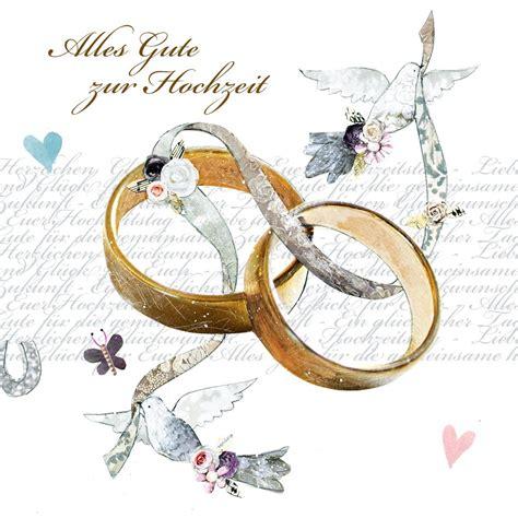 Alles Zur Hochzeit by Swarovski Elements Hochzeit Gru 223 Karte Handmade Popshot