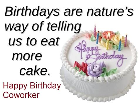 Birthday Quotes For A Colleague Coworker Birthday Wishes Page 2 Nicewishes Com