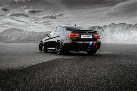 Car Back View Wallpaper by Wallpaper Bmw M3 Sedan E90 Black Cars Back View 4096x2734