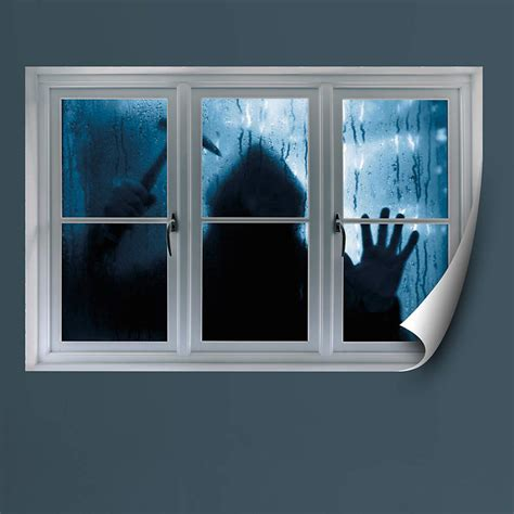 faux window prowler instant window wall decal shop fathead 174 for