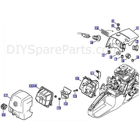 stihl ms 361 parts diagram stihl ms 361 chainsaw ms361 c parts diagram shroud