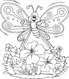 Girls Flowers Coloring Pages Coloring Home
