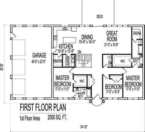 17 Best Ideas About 4000 Sq Ft House Plans On Pinterest 2000 Sq Ft Ranch Open Floor Plans