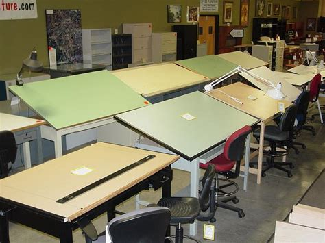 Used Drafting Tables Hopper S Drafting Furniture Used Drafting Tables