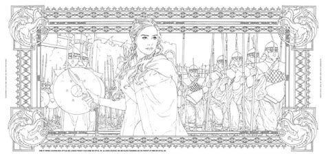thrones colouring book adults of thrones a new coloring book let s you color in