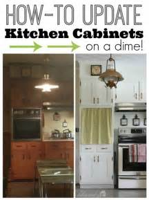 Updating Existing Kitchen Cabinets Update Kitchen Cabinet Doors On A Dime Hometalk