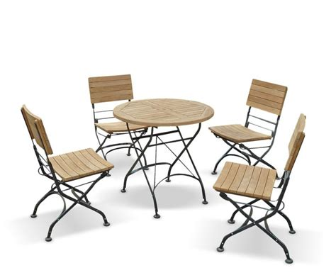 Patio Table And Chair Garden Bistro Table And 4 Chairs