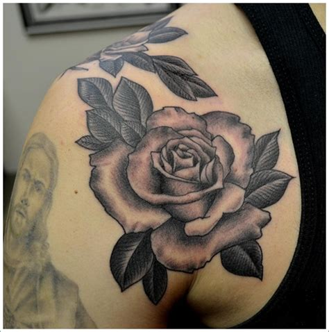 shaded rose tattoo designs 135 beautiful designs for and