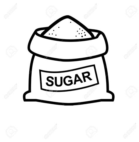 disegni clipart bag of sugar clipart