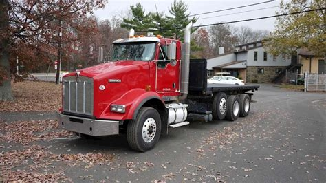 2009 kenworth truck 2009 kenworth t800 flatbed truck for sale 324 521