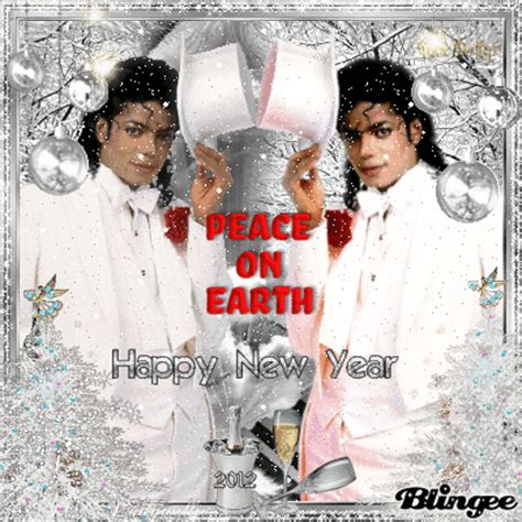 michael jackson merry christmas peace  earth happy  year picture