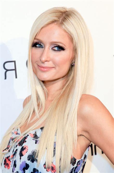 paris hair trends for women paris hilton cute long straight hairstyle for women