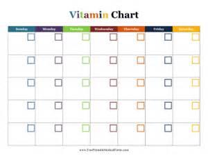 printable vitamin calendar