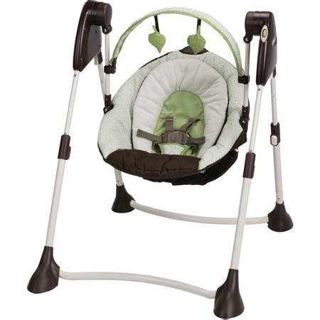 baby swings walmart stores graco swing by me baby swing go green walmart com