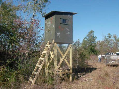 Deer Hunting Shooting Houses Have To Try Pinterest Deer Shooting House Plans