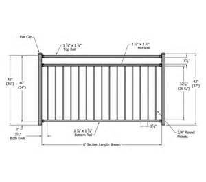 Height Of Banister On Stairs Riviera Aluminum Railing Phillips Fencing