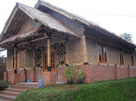 gambar desain rumah bambu unik minimalis model denah rumah dan desain gambar interior rumah