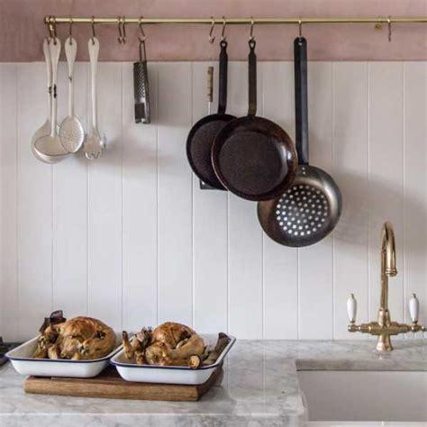 copper pots as kitchen decor remodelista kitchen of the week skye mcalpine s london flat by jersey