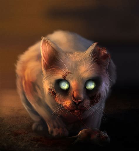 scary cat painting ideas fan take the tour