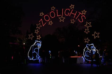 catch the animals at at zoolights at the