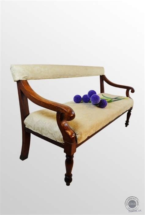 antique settee bench antique upholstered bench sofa couch seat settee settle