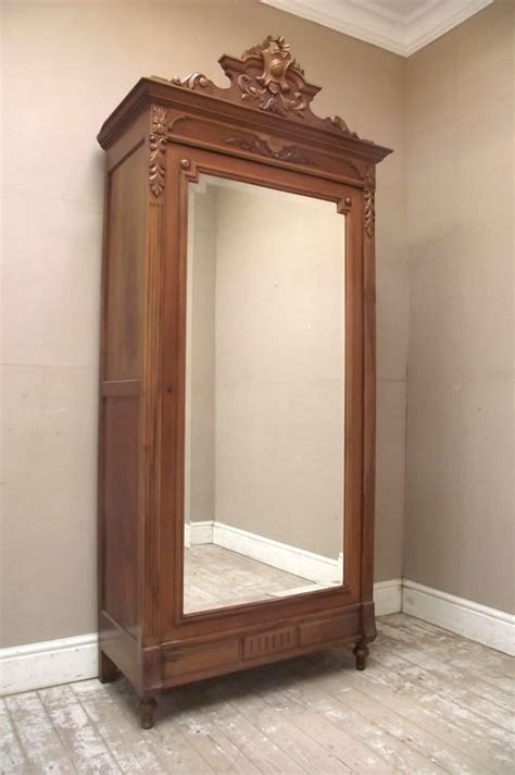 single armoire if2739 antique french louis style single armoire