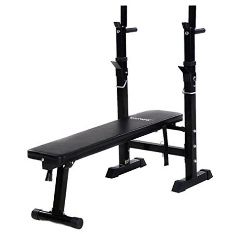 flat folding weight bench goplus adjustable folding weight lifting flat incline