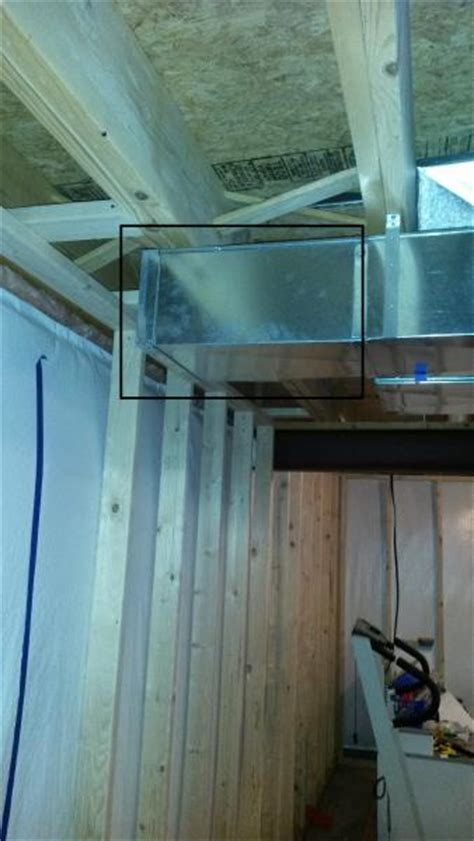 reduce ductwork doityourself community forums