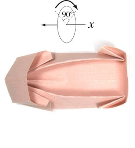 Origami Ballet Shoes - how to make a ballet origami shoe page 13