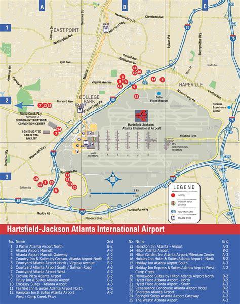 atlanta city usa map hartsfield jackson map world map 07