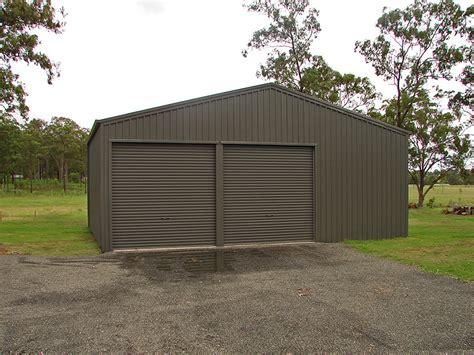 Garages And Sheds Garage Woodland Grey 01 Topline Garages And Sheds