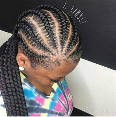 alternating fat and skinny cornrow hairstyles 50 best cornrow hairstyles fashiotopia