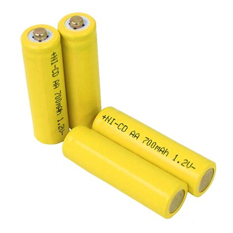 aa rechargeable batteries for solar lights solar light aa ni cd rechargable batteries pack of 10