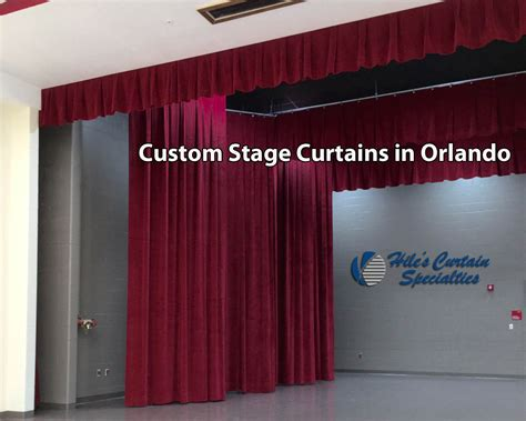 custom stage curtains school stage curtains archives hiles curtains specialties