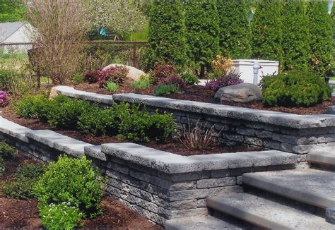 What S New At Blue Tree Retaining Wall Garden Ideas