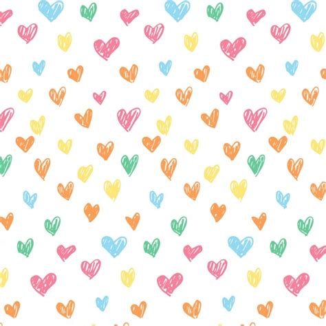 pattern heart vector love pattern vector free download