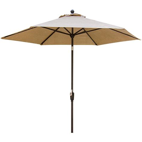 hanover traditions 9 ft tilting patio umbrella