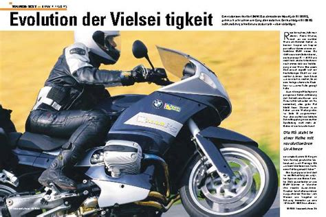 Motorradreifen Bmw R 1150 Gs by Tourenfahrer Archiv Test Reise Zubeh 246 R Tourenfahrer