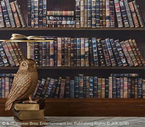 harry potter library kids wallpaper pottery barn kids