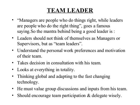 team leader funzo aerc co