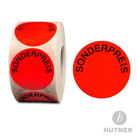 Etiketten Rund 50mm Durchmesser by Profi Aktionsetiketten 32mm 50mm Etiketten Aufkleber
