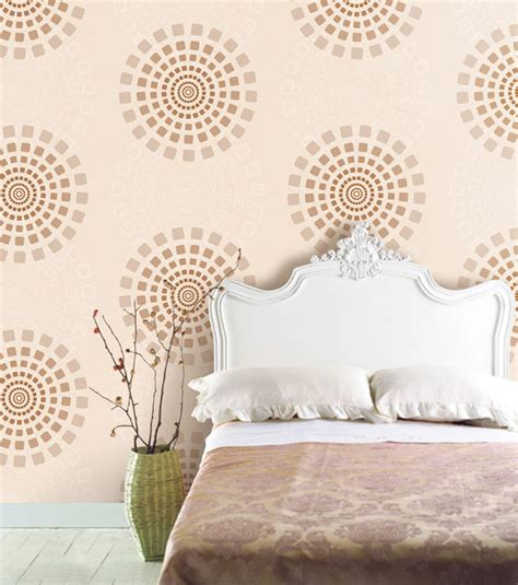 vinyl home decor modern circle wallpaper self adhesive vinyl home decor