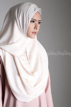 Pashmina Jilbab Instan Scarf Vania Pashmina 1 no pins needed just button up and twist muslimah shawls button up twists