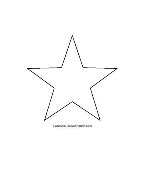 mewarnai gambar bintang anak muslim alquranmulia