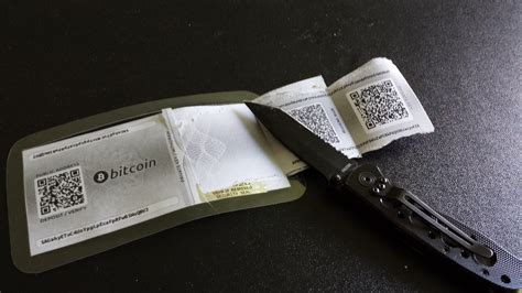 How To Make A Paper Wallet Bitcoin - bitcoin paper wallets morning musings