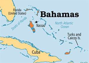 bahamas location map where is the bahamas on the world map
