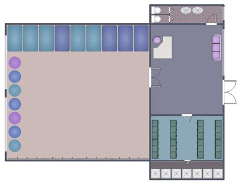 dance studio floor plan dance studio floor plan