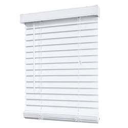 2 inch faux wood blinds white designview 2 inch faux wood blind white 24 inch x 48