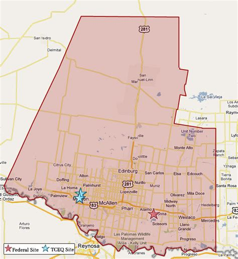 hidalgo county texas map superfund in hidalgo county tceq www tceq texas gov